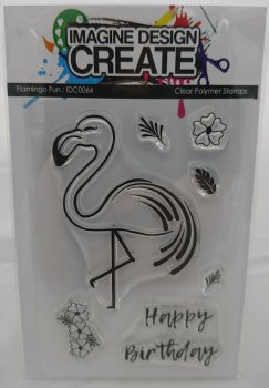 Flamingo Fun: IDC0064 - A7 Stamp set