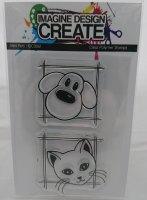 Mini Pets: IDC0061 -  A7 Stamp set