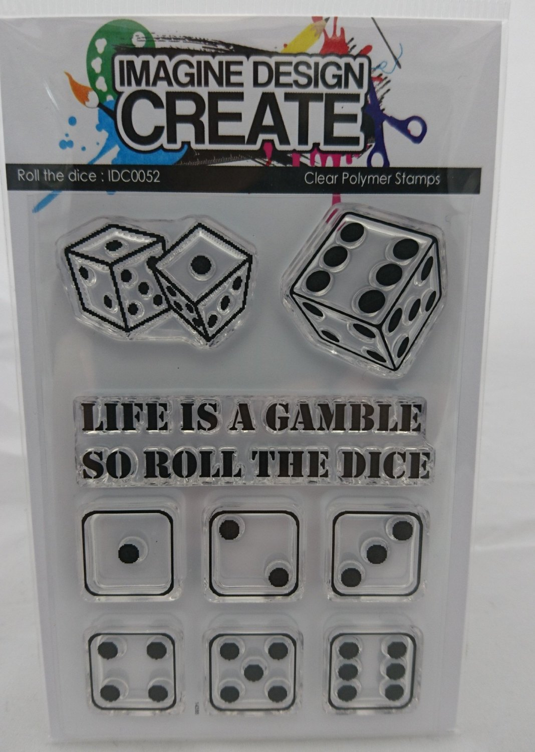 Roll The Dice - stamps