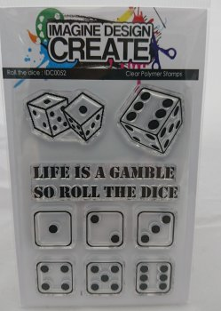 Roll The Dice - A7 Stamp set