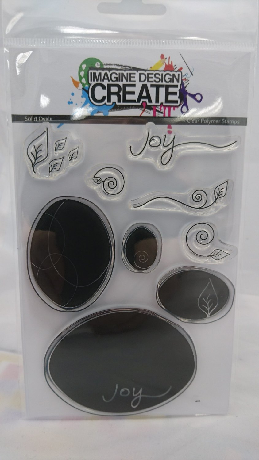 Solid Ovals - Stamps