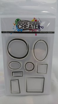 Mini Shape Frames: - A7 Stamp set