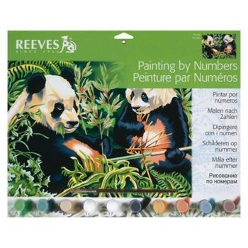 Reeves Painting by Numbers - Pandas