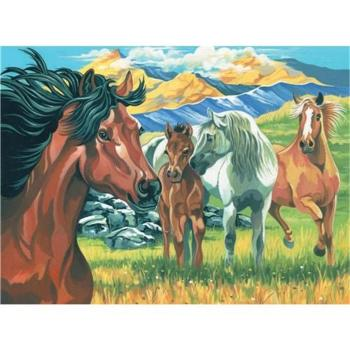 Reeves Painting by Numbers - Wild Horses