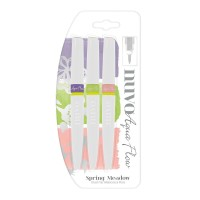Nuvo Aqua Flow Watercolour pens - Spring Meadow