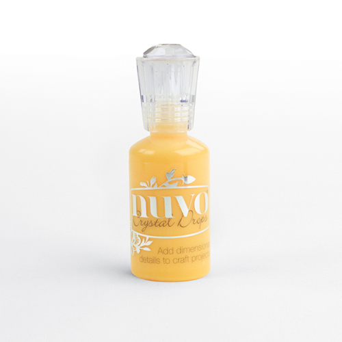 Nuvo Crystal Drops - Dandelion Yellow