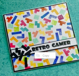 Retro gamer tetris