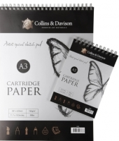 Collins & Davison Head Bound Spiral Sketch Pad - A4