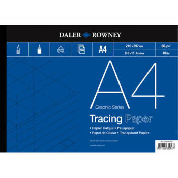 Daler Rowney Graphic Series Tracing Paper - A4