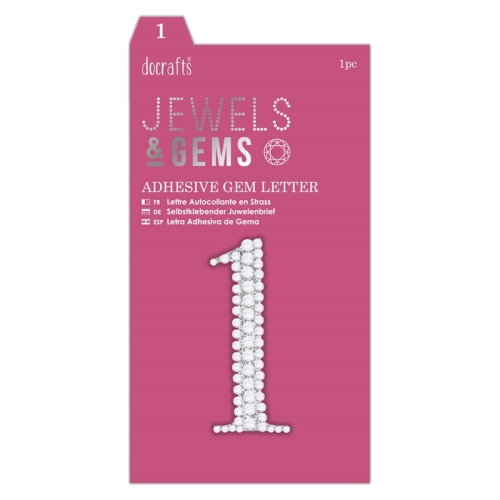 docrafts Jewels & Numbers -
