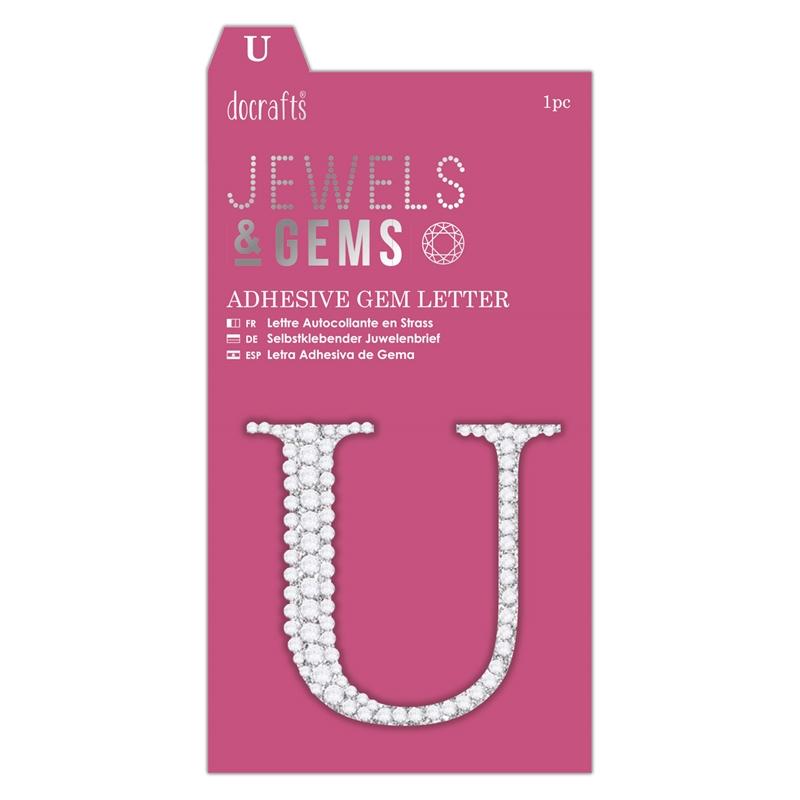docrafts Jewels & Gems - U