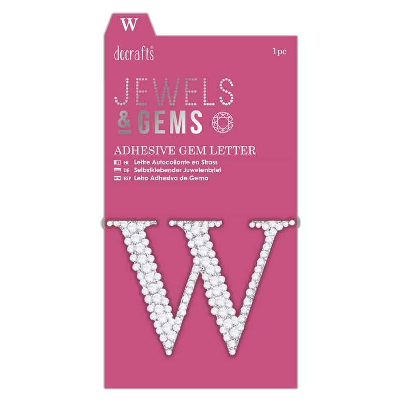 docrafts Jewels & Gems - W