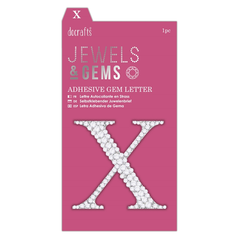 docrafts Jewels & Gems - X