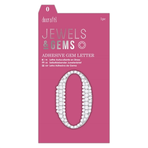 docrafts Jewels & Numbers - 0