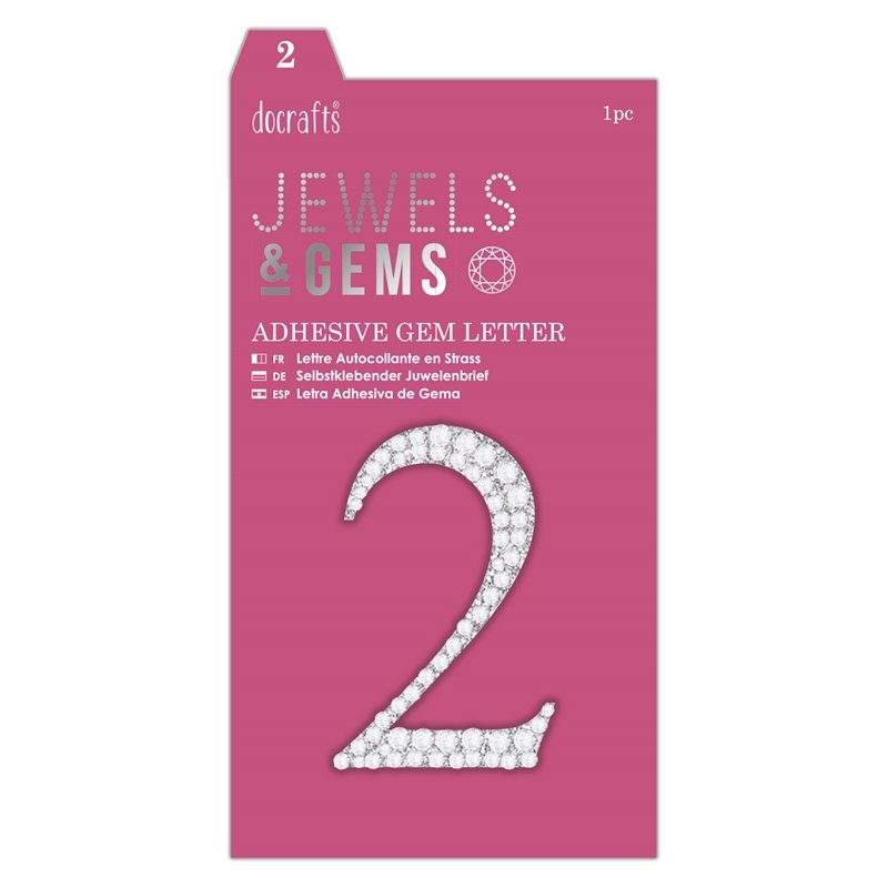 docrafts Jewels & Numbers - 2