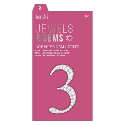 docrafts Jewels & Numbers - 3