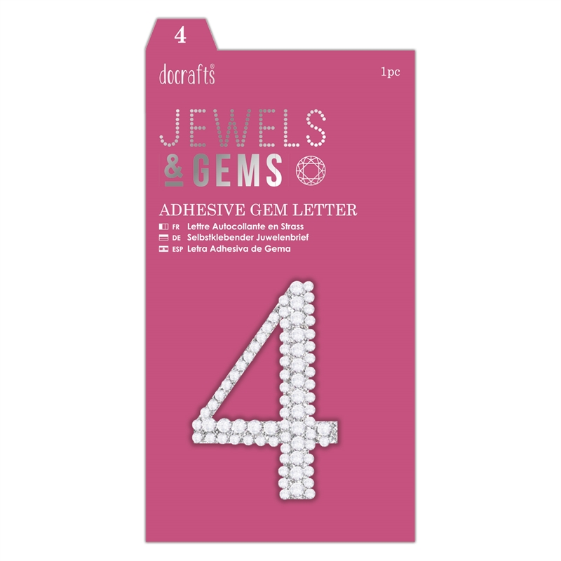docrafts Jewels & Numbers - 4