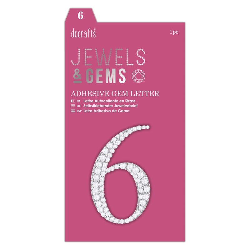 docrafts Jewels & Numbers - 6