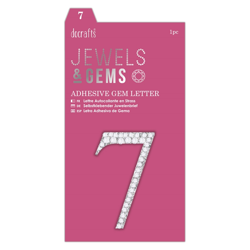 docrafts Jewels & Numbers - 7