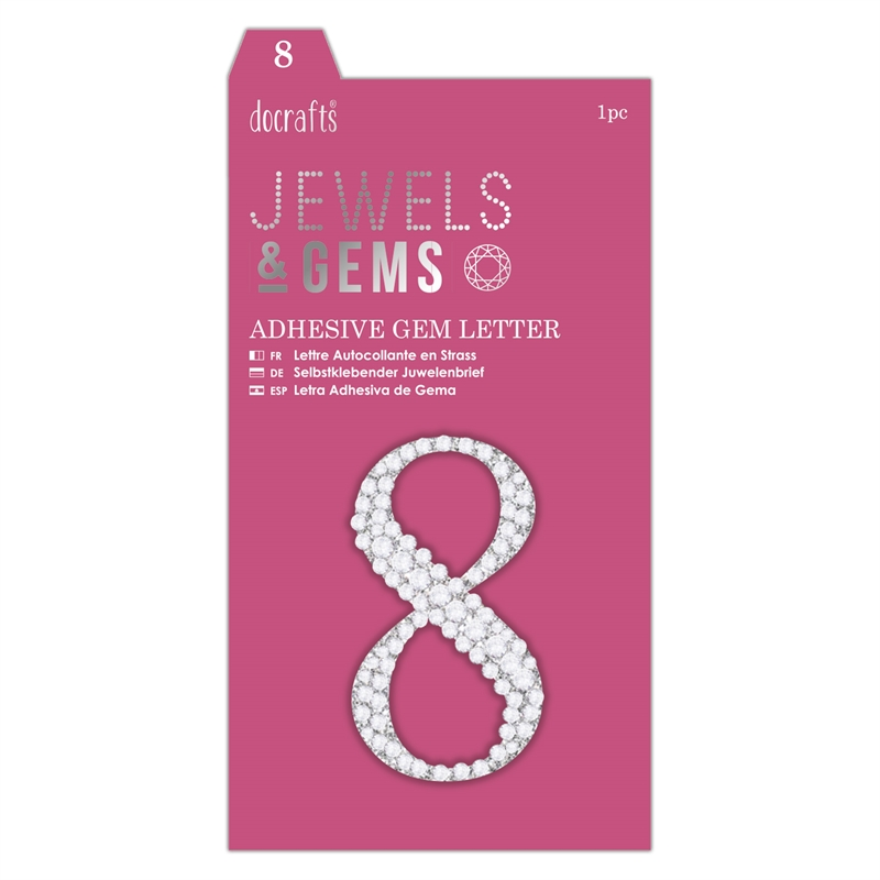 docrafts Jewels & Numbers - 8