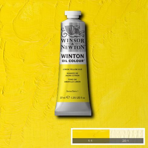 Winton Oil Colour - Lemon Yellow Hue