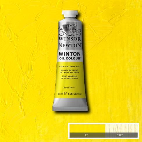Winton Oil Colour - Cadmium Lemon Hue