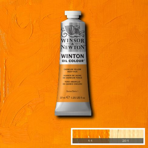 Winton Oil Colour - Cadmium Yellow Deep Hue