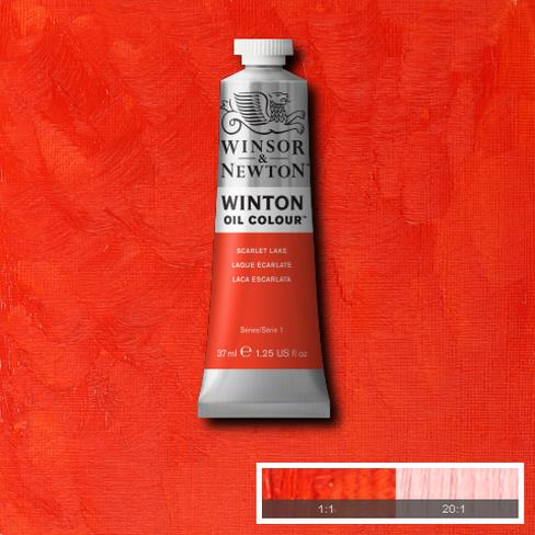 Winton Oil Colour - Scarlet Lake