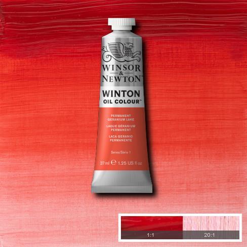 Winton Oil Colour - Permanent Geranium Lake