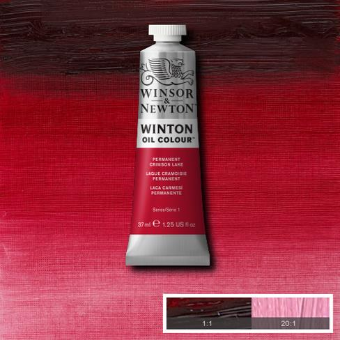 Winton Oil Colour - Permanent Crimson Lake