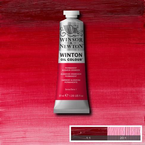 Winton Oil Colour - Permanent Alizarin Crimson