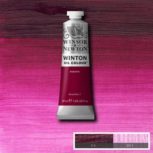 Winton Oil Colour - Magenta