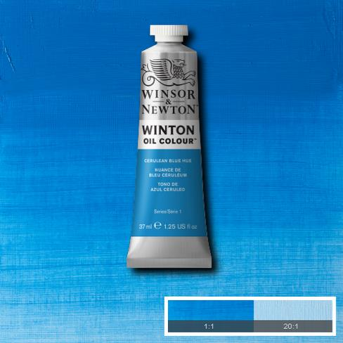 Winton Oil Colour - Cerulean Blue Hue