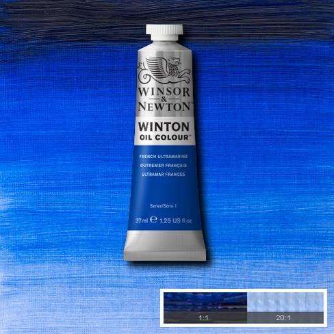 Winton Oil Colour - French Ultramarine