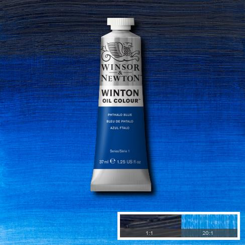 Winton Oil Colour - Phthalo Blue