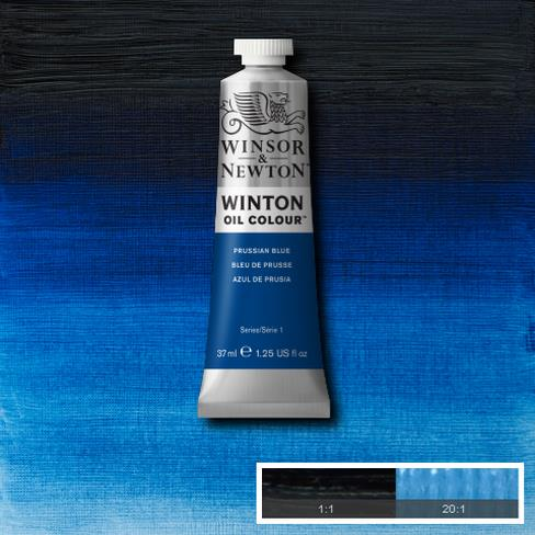 Winton Oil Colour - Prussian Blue