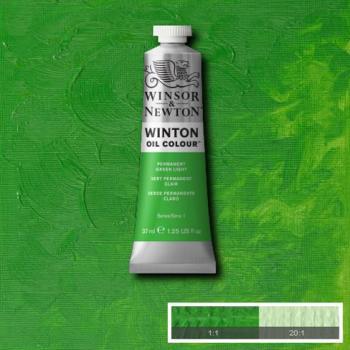Winton Oil Colour - Permanent Green Light