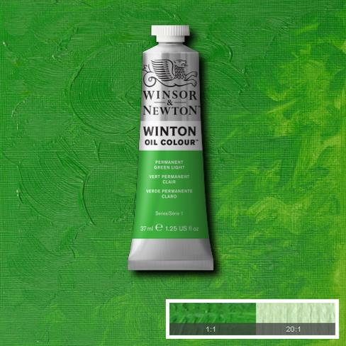 Winton Oil Colour - Permanent Green Light