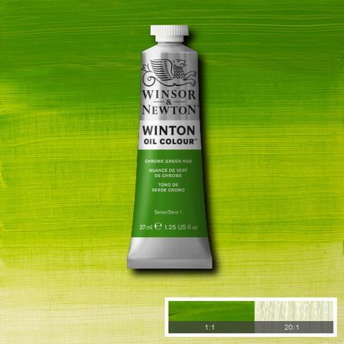 Winton Oil Colour - Chrome Green Hue