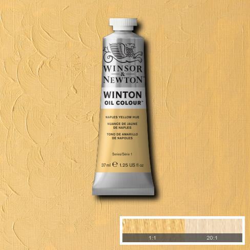 Winton Oil Colour - Naples Yellow Hue
