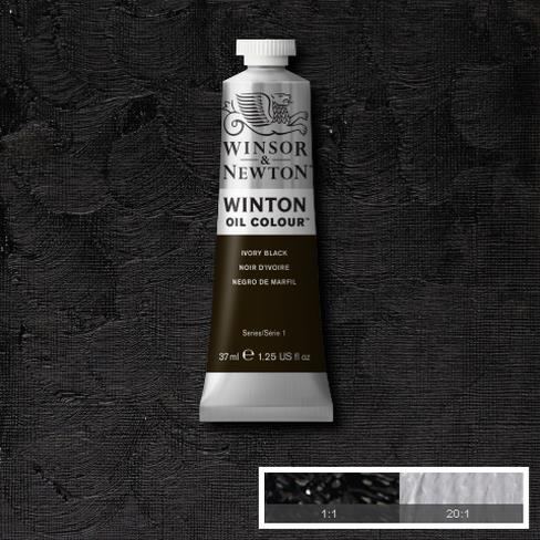 Winton Oil Colour - Ivory Black