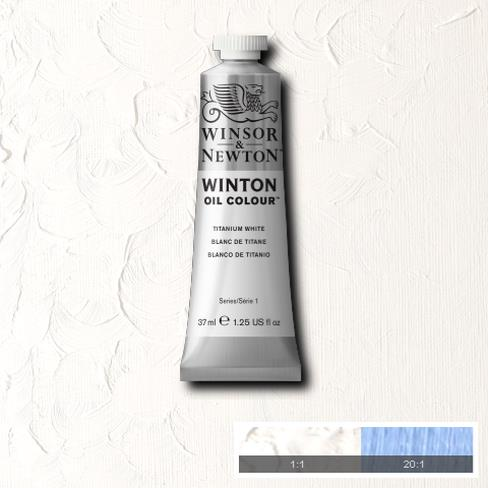Winton Oil Colour - Titanium White