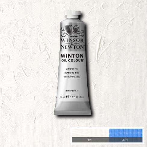 Winton Oil Colour - Zinc White
