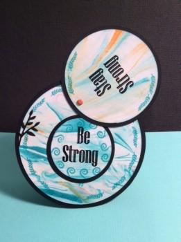 Darlene - circle card