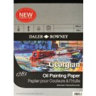 Daler Rowney Georgian Oil Painting Paper - 10 x 7 (254 x 178)