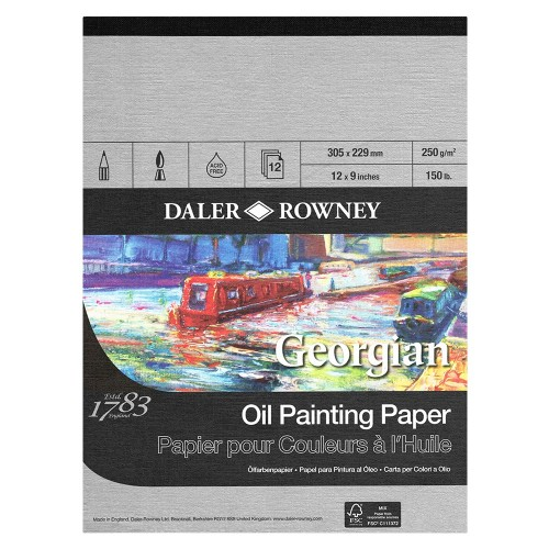Daler Rowney Georgian Oil Painting Paper -