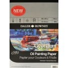 "Daler Rowney Georgian Oil Painting Paper - 14"" x 10"" (355mm x 254mm)"