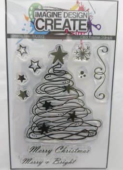 Doodle Tree : IDC0072 - A7 stamp set