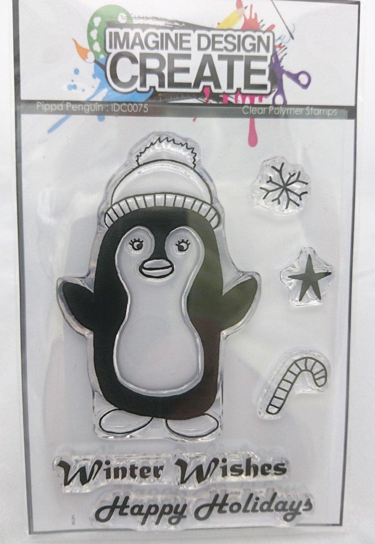 Pippa Penguin stamp set