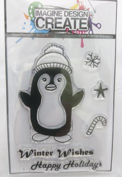 Pippa Penguin - A7 Stamp set